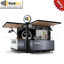 10FT Shipping container 3d ice cream kiosk design ,Mobile container ice cream kiosk for sale