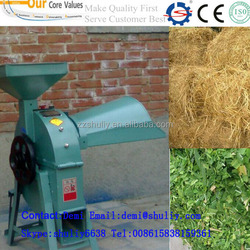 2015 high output Tractor corn straw crusher / animal feed corn rice wheat straw stalk cutter for farmer /0086-15838159361