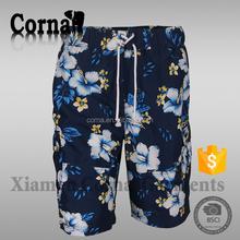 Custom manufacture traveling shorts mens summer seersucker shorts