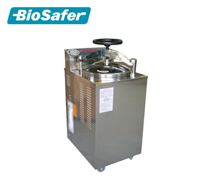 Sterilizasyon güç 3.5kw Kurutma gücü 0.8kw Dikey basınç sterilizatör