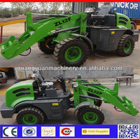 1.2ton cheap compact min wheel loader made in China