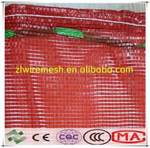 red potato bag 30kg,onion bags, plastic bag