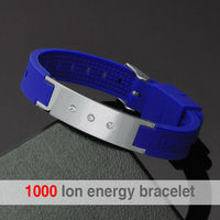 Promotion Health Fitness Sport Magnetic Silicone Wristband