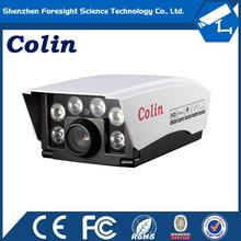 New white led lamp technology cctv camera combo better than general IR Camera