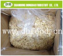 dried white garlic flake 100% nature