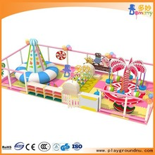 Good quality kids circular water bed for indoor playground equipment
