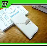 Wholesale Hot selling custom elegant ladies leather mobile cell phone case for iphone 6