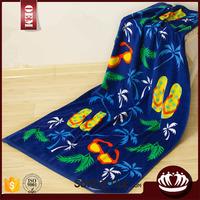 Professional large custom printed beach towel wholesale