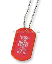 2015 cheap metal pins/ pet tag silencer/ new design metal skeleton engraved dog tags