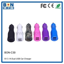high quality electronic type 3A charger rubber painted in car