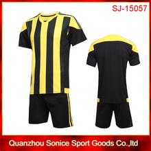 customized cheap soccer jersey set,full set soccer uniform,kids football kits