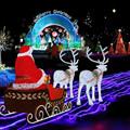 Profesional humor led decoración de la navidad para escenas