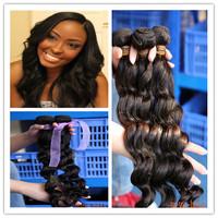 Beautiful & sexy Peruvian loose hair weave for black women