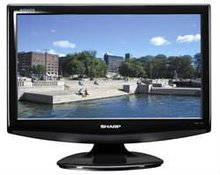 Black LCD Monitors 17,18 Inch