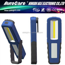 AILE Advanced Germany Machines 3W COB Mini Rechargeable LED Work Light,Pen Clip Auto Repair Lamp,Flexible Torch Light