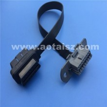 s06 Cars volvo obd2 8 pin truck diagnostic cable right angle obdii interface