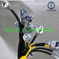 PA with PU nylon Pressure Test Hose with Adapter
