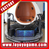 FACTORY Single/Triple Interactive Virtual Reality Electric 1/2 Seats 180 Degree 9d Egg VR Cinema Simulator