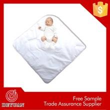 BSCI super soft 100% Cotton Baby Blanket