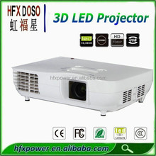 High quality 3D Video projector 1920x1080 3000 lumens