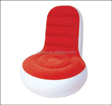 Customized all kinds of inflatable pvc sofa chair
