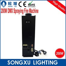 200w dmx stage effect fire machine / satge lighting for party