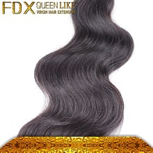 High quality virgin body wave 100% mongolian virgin hair weave styles pictures