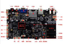 A31 Extensible Android Motherboard 64 bits Quad core ddr3