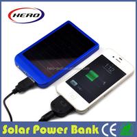 power bank solar panel 2000/3000mAh/4000mAh/8000mAh for smart phone