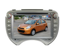 Car DVD GPS For NISSAN MARCH MICRA Radio Stereo Head units MARCH Ipod Bluetooth Steering Wheel Control 1080P MP3 MP4 USB SD AUX