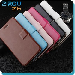 Wallet PU Leather Case Cover Pouch with Card Slot Photo Frame for iPhone 6,6 plus