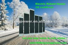 Keep warm in winter-Electric Rdiant Heater installed outdoor resturant