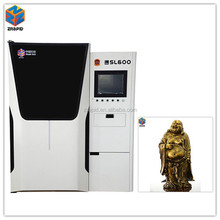 2015 High precisions Z Rapid SL600 large model maker 3d printer used for arts and crafts design