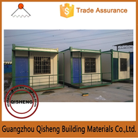 2015 Habitable Low Cost Prefabricated Modular house for worker   Made in China