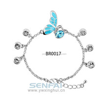 OEM China out design alloy fashion European charm bracelet jewelry