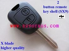 Citr 2 Botón de shell remoto clave (SX 9) X blade y de mayor calidad