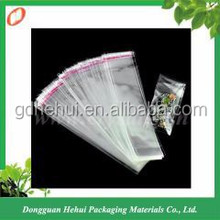 Hot sale self adhesive clear plastic OPP bag