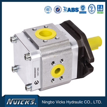 Eckerle internal gear pump with axial and radial gap compensation