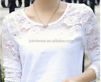 lace white sexy transparent latest girls blouse designs