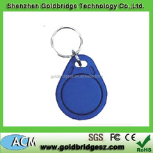 Customed Logo Printable Waterproof ABS TK4100 125khz Access Control Mangement RFID Keytag