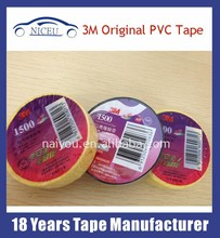 fireproof PVC 3M 1500 Electrical Insulation Tape