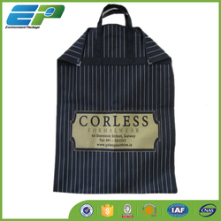 Foldable nonwoven suit bag for promtion and shopping