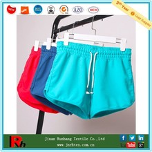 Trade Assurance custom breathable cotton/polyester plain womens gym shorts
