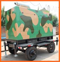 Voda Power trailer diesel generator set by Volvo Engine