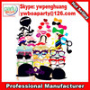 Cheering party goat beard glasses mouth nonwoven paper masks photographed creative wedding props