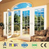 Arch Top Double Leaf uPVC Window and Casement Door