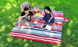 New design folding mat beach bed
