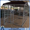 outdoor or galvanized comfortable welded dog kennel