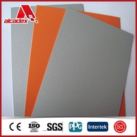 exterior PVDF building material suppliers / exterior wall siding panel / 4mm aluminum composite panel wall decoraion materials