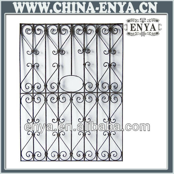 French Steel Window Grill Design